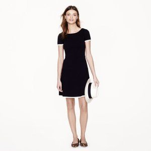 J. Crew Tipped Gamine Dress